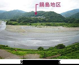 鍋島地区(静岡県島田市)